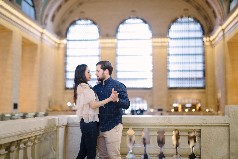 Anahi+David- Classic NYC Engagement Session- Grand Central New York City- Olivia Christina Photo-40.JPG