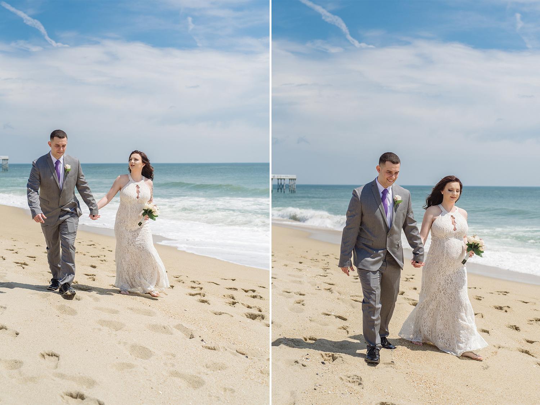 Caitlyn+Anthony- Belmar Beach Elopement- Bride and Groom Portraits- New Jersey Weddings- Olivia Christina Photo.jpg