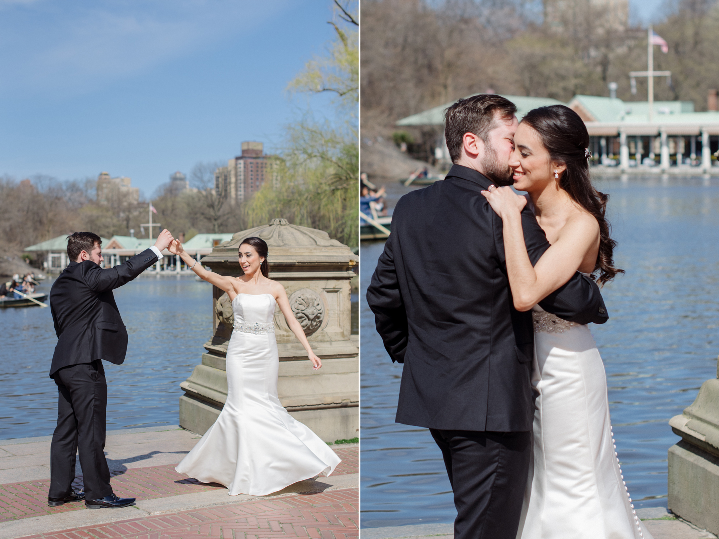 Anahi+David- Central Park Elopement Bethesda Fountain Twirling Dancing- New York City- Olivia Christina Photo.jpg