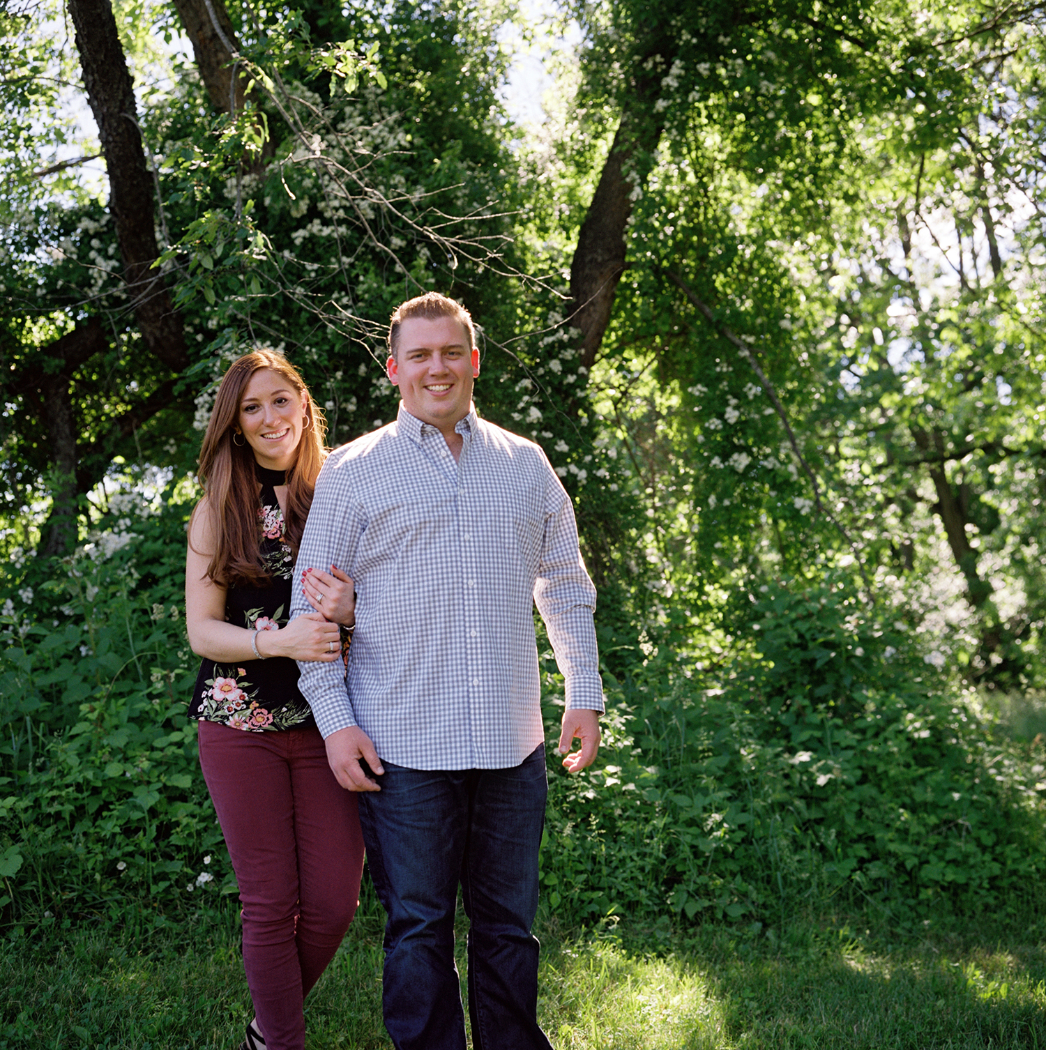 Lauren+AJ | Warwick Winery Engagement Session-Candid Photography- FILM- Olivia Christina Photography