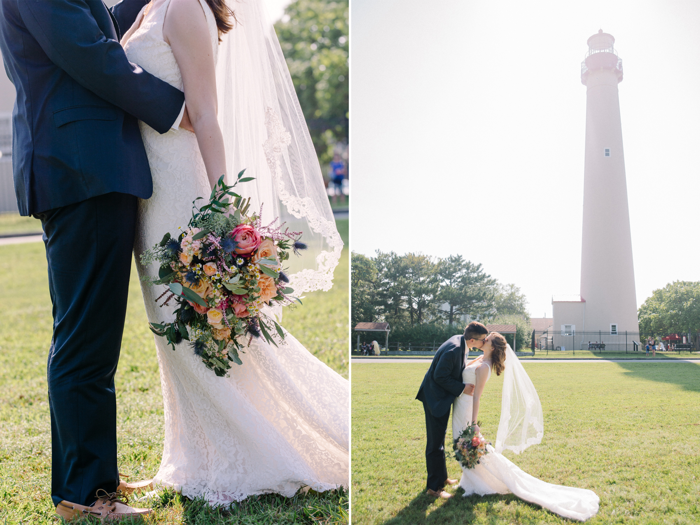 Carolyn+Dominic- Bride and Groom Portraits- Cape May Lighthouse- Congress Hall Wedding- Cape May New Jersey- Olivia Christina Photo-44.jpg