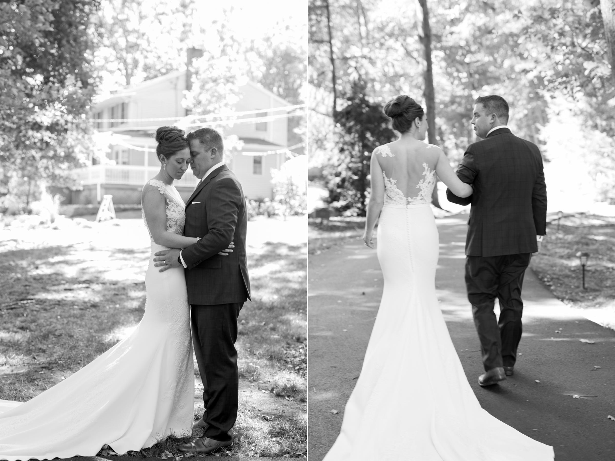 Lauren+AJ- Bride and Groom Portraits Black and White- DIY Backyard Wedding- New Jersey- Olivia Christina Photo.jpg
