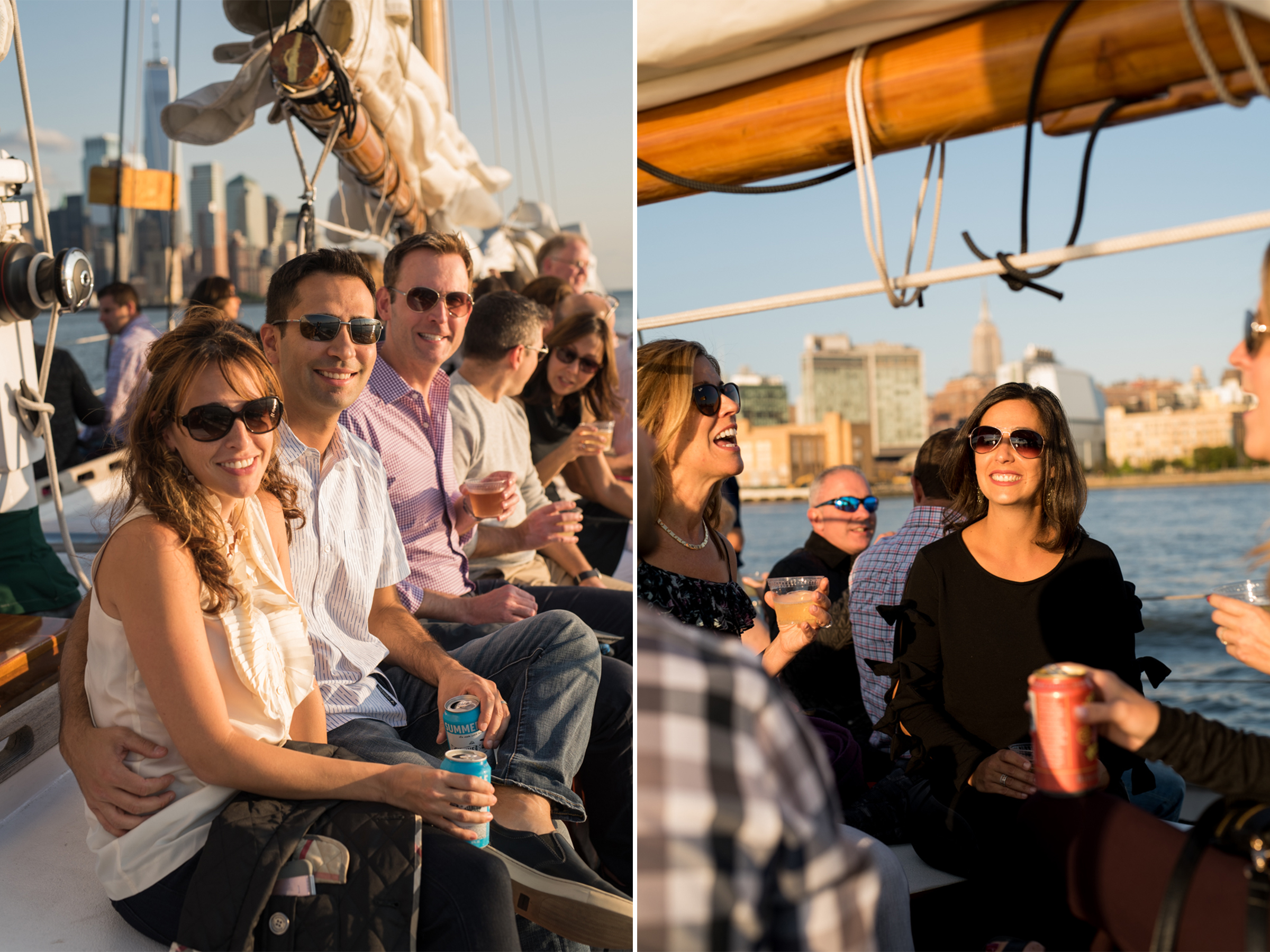 50th Birthday Party- Harborline Sunset Cruise NYC- Adirondack Schooner 2- Olivia Christina Photo.jpg