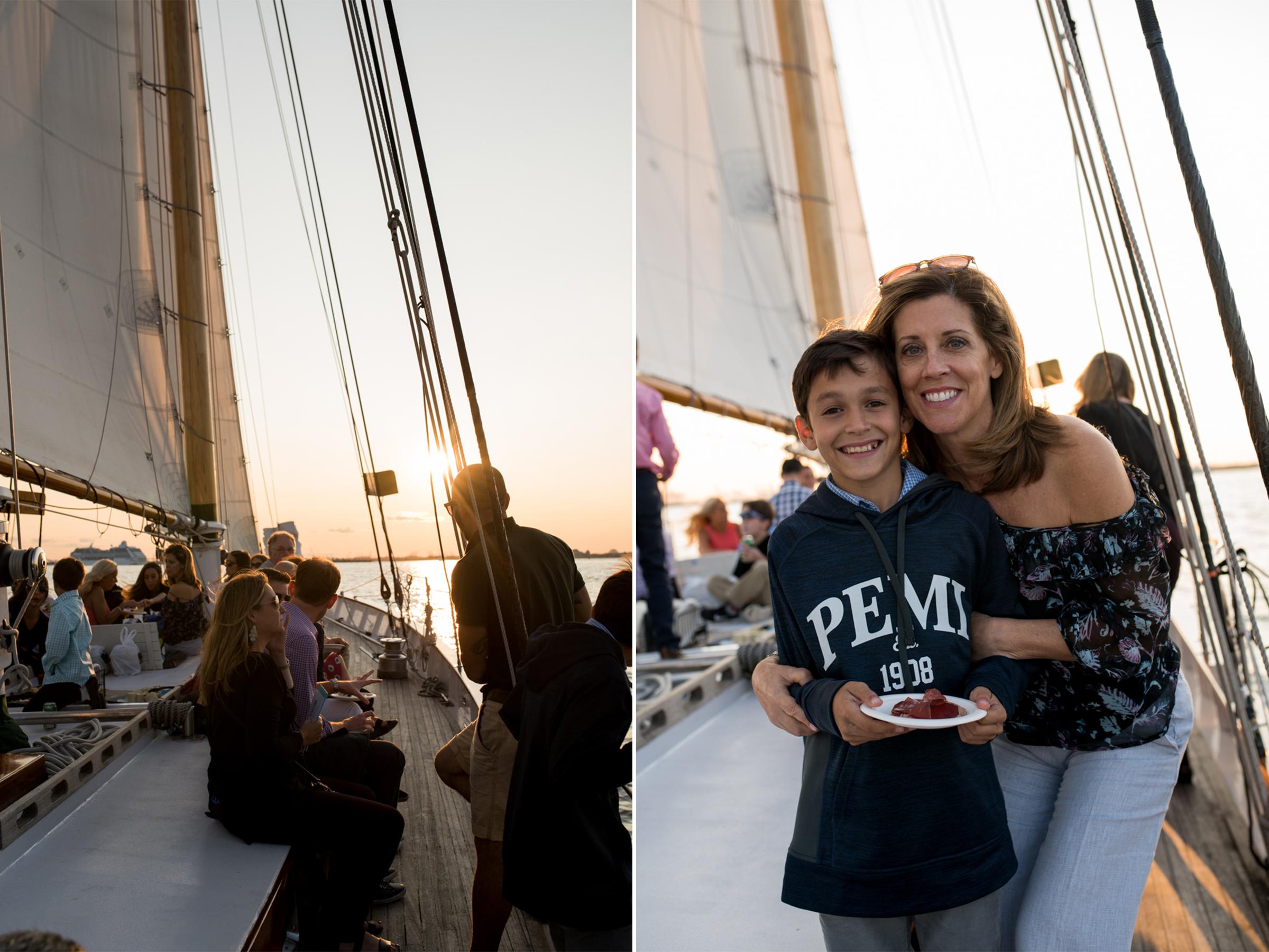 50th Birthday Party- Harborline Sunset Cruise NYC- Adirondack Schooner 4- Olivia Christina Photo.jpg