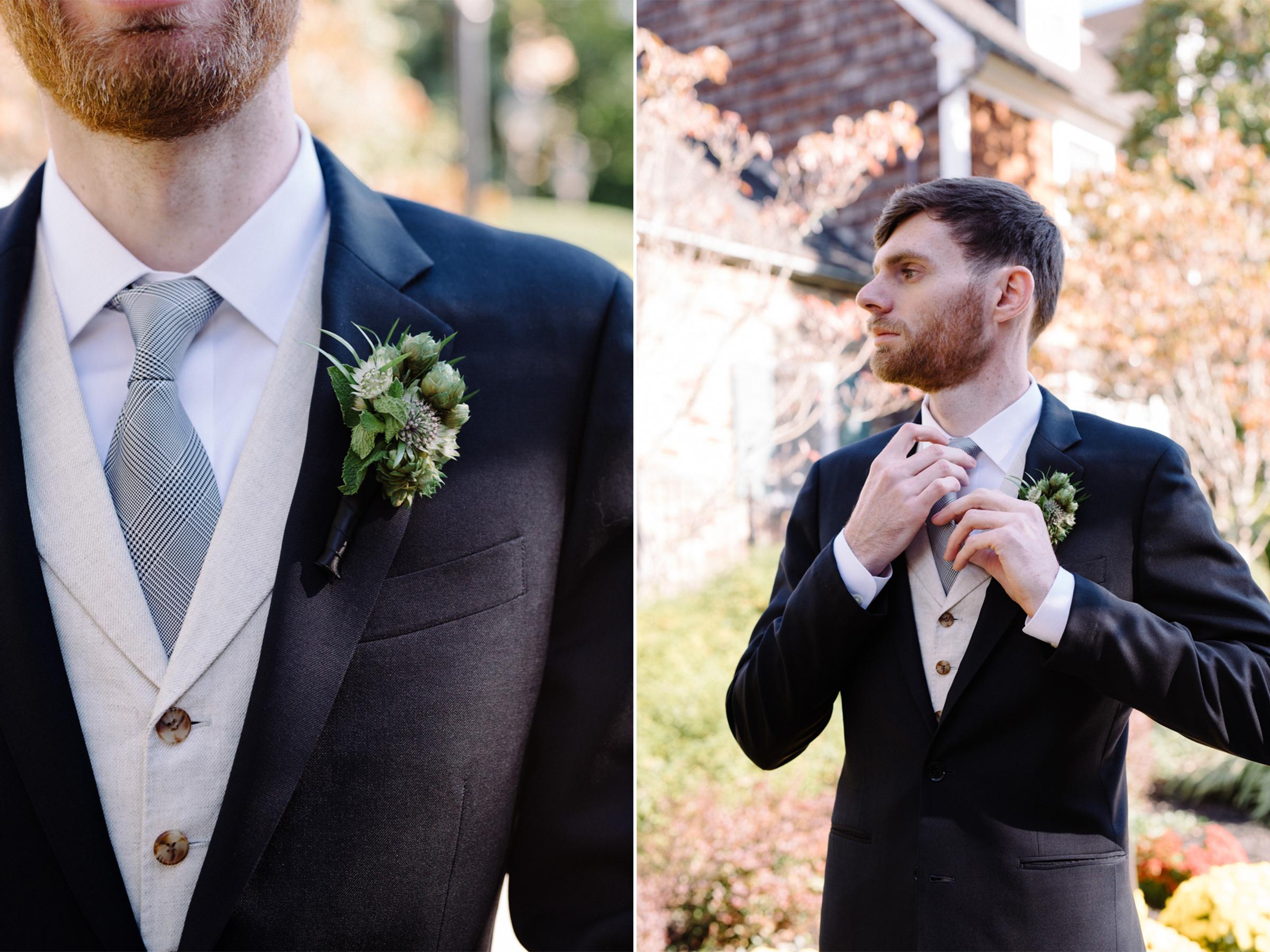 Chelsea+James- Groom Portraits-Hopps Boutonniere- Viburnum Designs- Princeton Wedding- Olivia Christina Photo.jpg