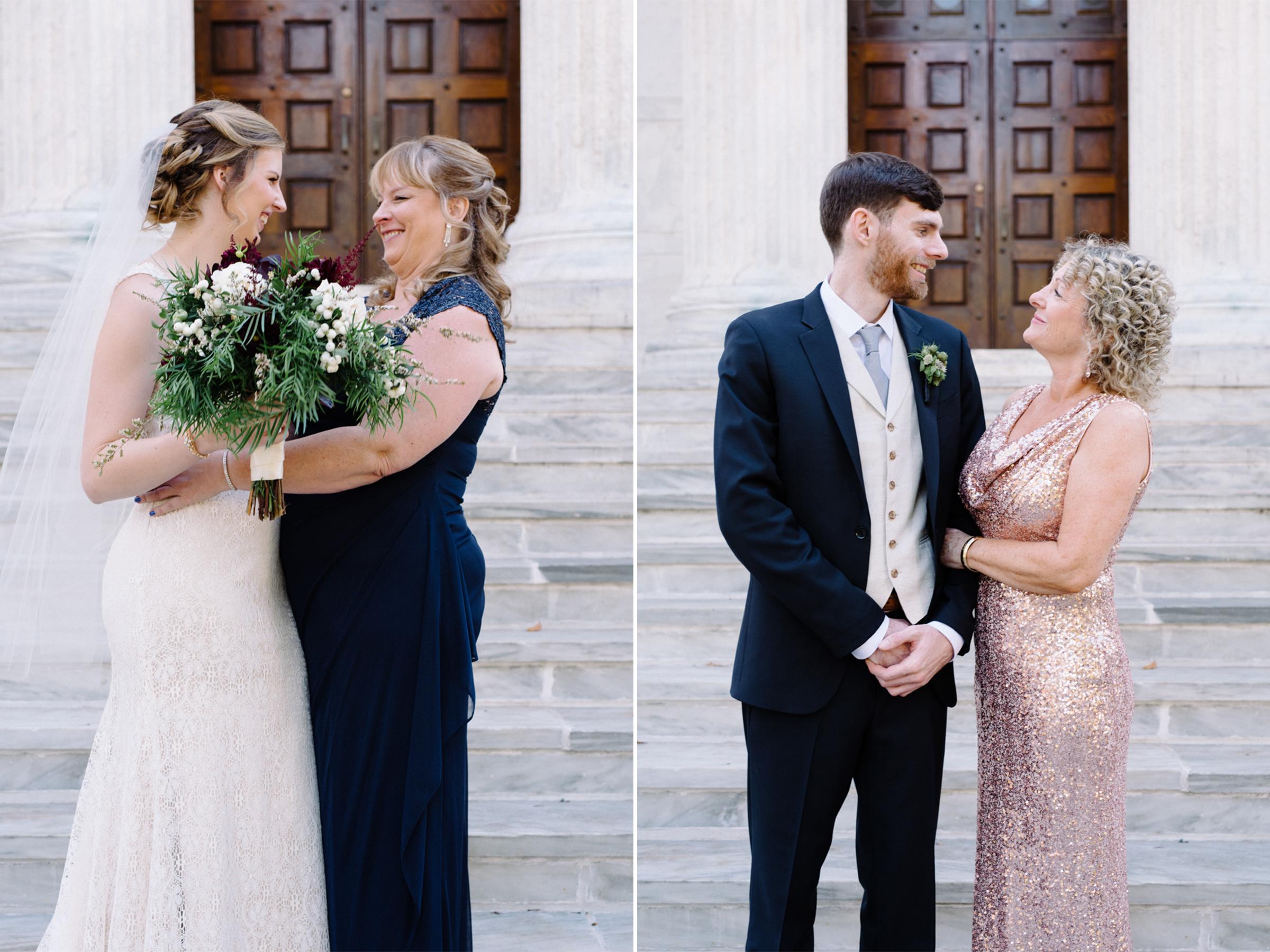 Chelsea+James- Bride and Groom with Moms- Princeton University Campus Wedding- Olivia Christina Photo.jpg