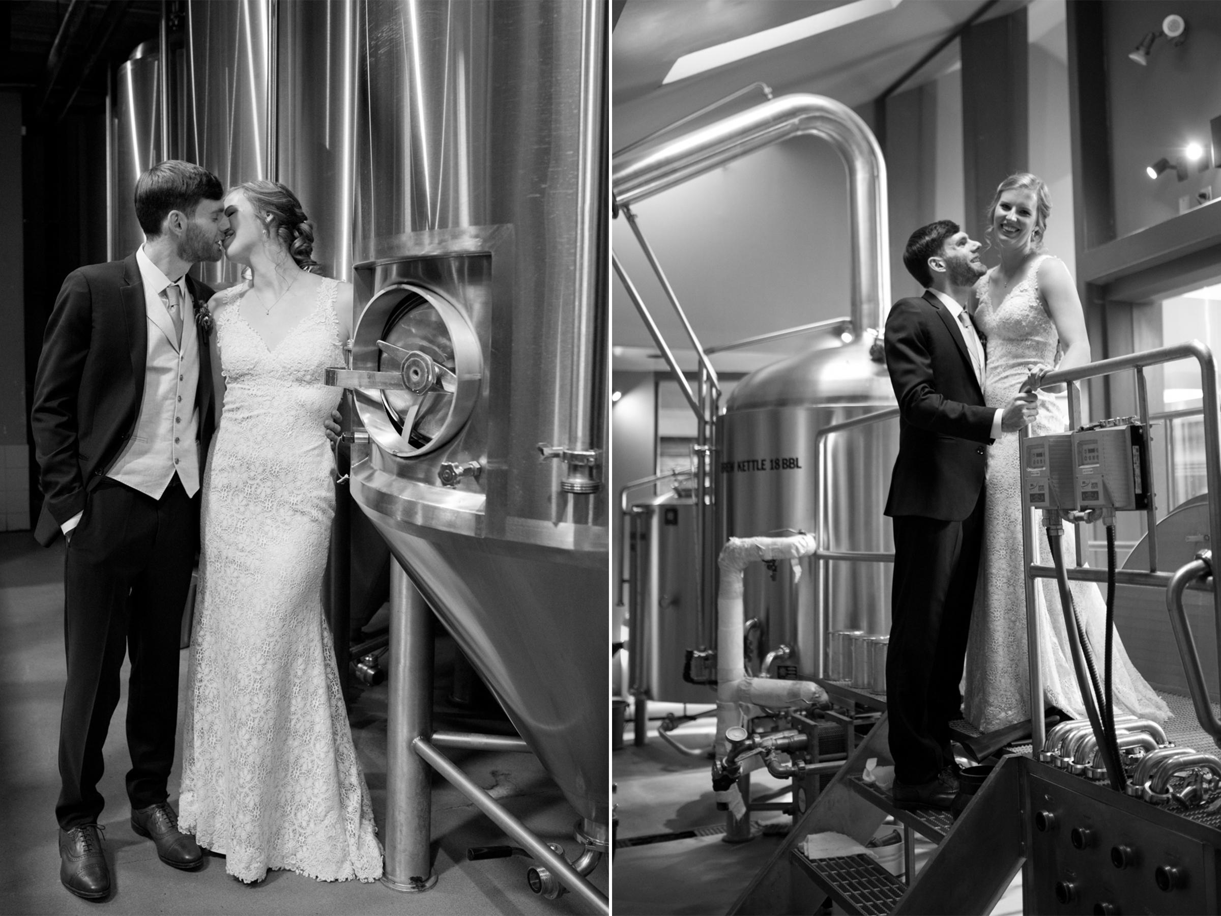Chelsea+James-Triumph Brewery Wedding-Brewing Room Vats-Craft Beer Wedding- Princeton NJ- Olivia Christina Photo.jpg