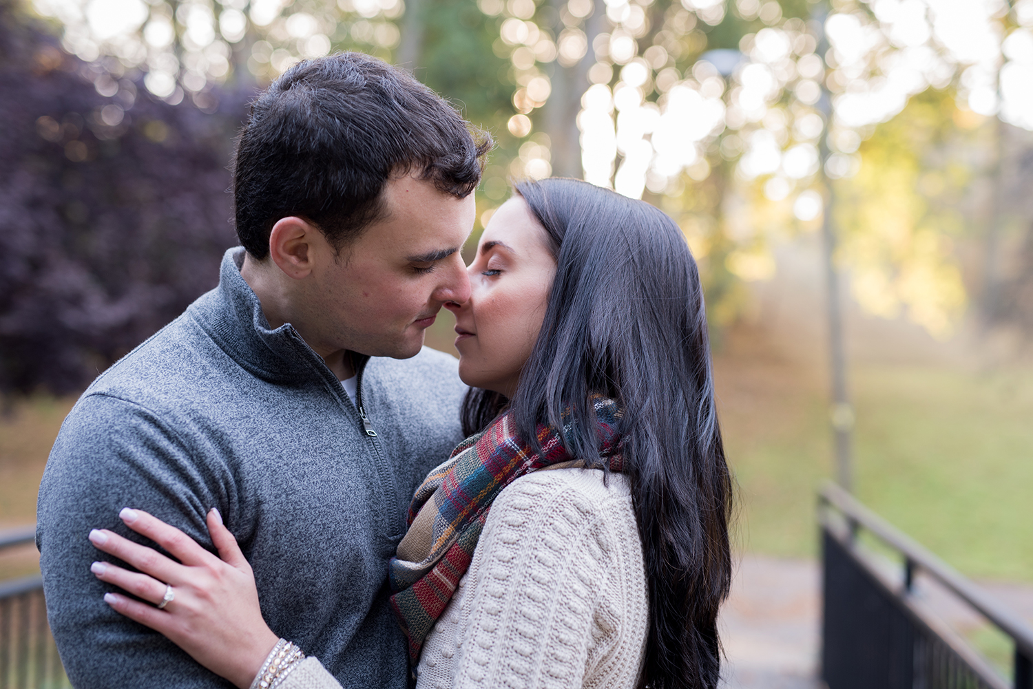 Melissa+Jeff- Local Park Engagement Session with Dog- Booth Park Nutley- New Jersey-Olivia Christina Photo-32.jpg