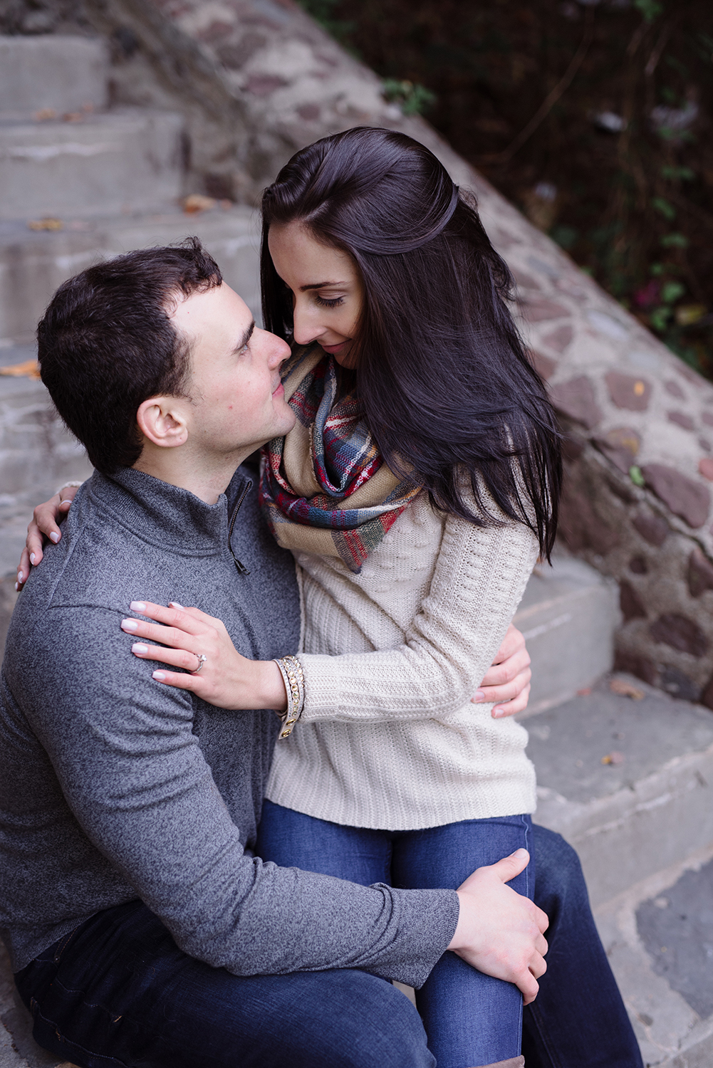 Melissa+Jeff- Local Park Engagement Session with Dog- Booth Park Nutley- New Jersey-Olivia Christina Photo-58.jpg
