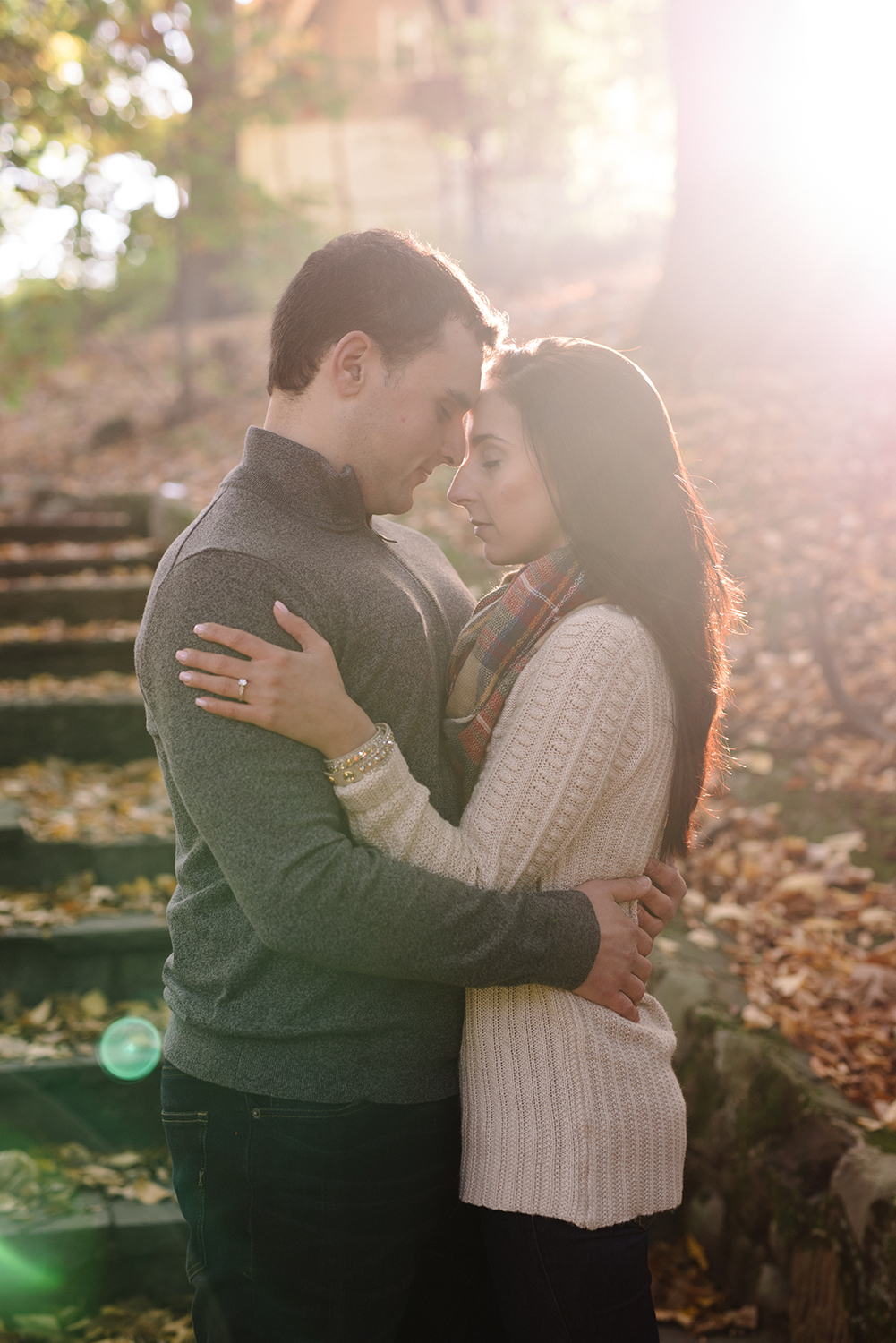Melissa+Jeff- Local Park Engagement Session with Dog- Booth Park Nutley- New Jersey-Olivia Christina Photo-70.jpg