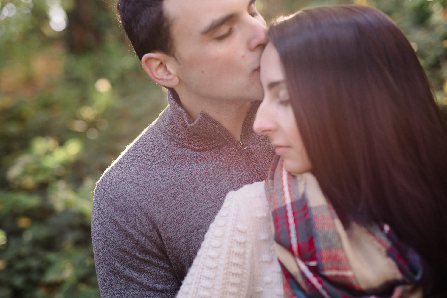 Melissa+Jeff- Local Park Engagement Session with Dog- Booth Park Nutley- New Jersey-Olivia Christina Photo-88.jpg