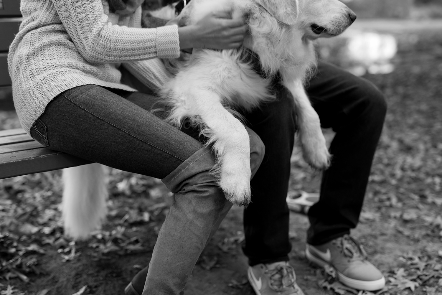Melissa+Jeff- Local Park Engagement Session with Dog- Booth Park Nutley- New Jersey-Olivia Christina Photo-97.jpg