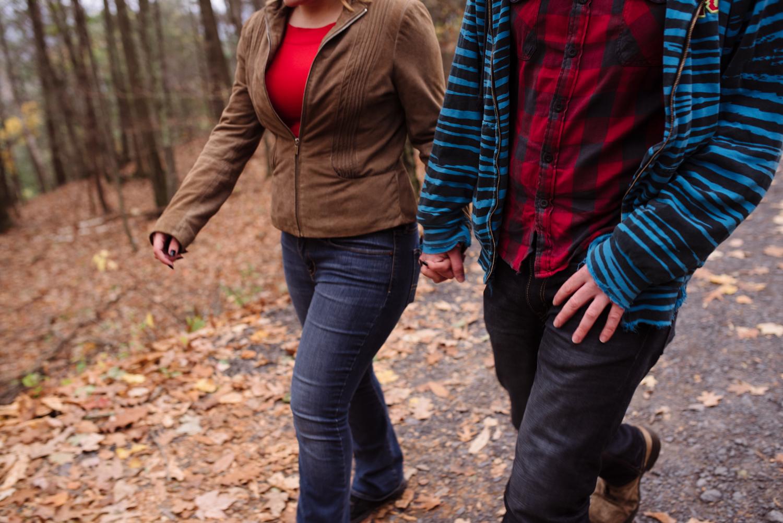 Kayte+ Kevin-Mohonk Mountain Hiking Engagement Session- New Paltz New York- Olivia Christina Photo- (4).JPG
