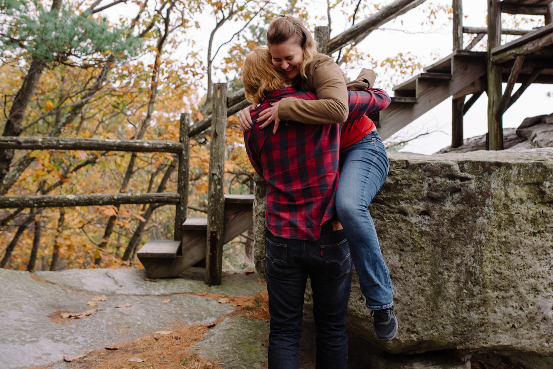 Kayte+ Kevin-Mohonk Mountain Hiking Engagement Session- New Paltz New York- Olivia Christina Photo- (24).JPG