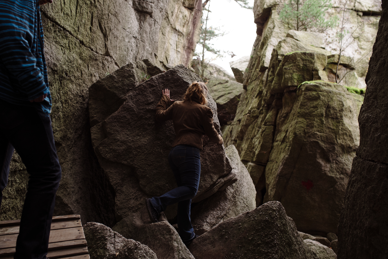 Kayte+ Kevin-Mohonk Mountain Hiking Engagement Session- New Paltz New York- Olivia Christina Photo- (48).JPG