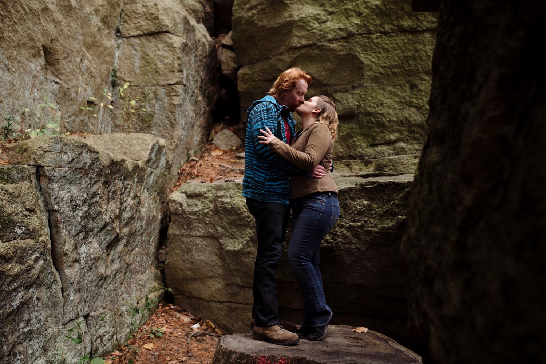Kayte+ Kevin-Mohonk Mountain Hiking Engagement Session- New Paltz New York- Olivia Christina Photo- (46).JPG