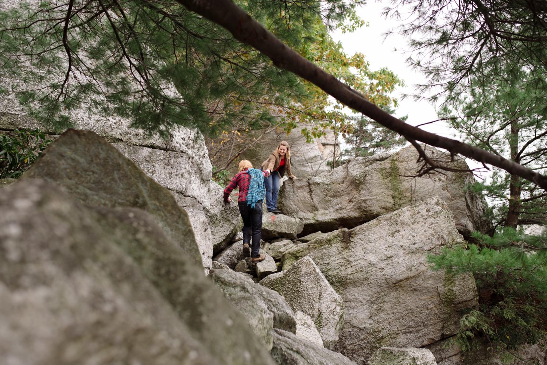 Kayte+ Kevin-Mohonk Mountain Hiking Engagement Session- New Paltz New York- Olivia Christina Photo- (67).JPG