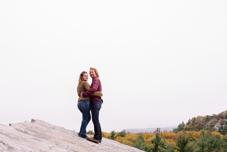 Kayte+ Kevin-Mohonk Mountain Hiking Engagement Session- New Paltz New York- Olivia Christina Photo- (74).JPG