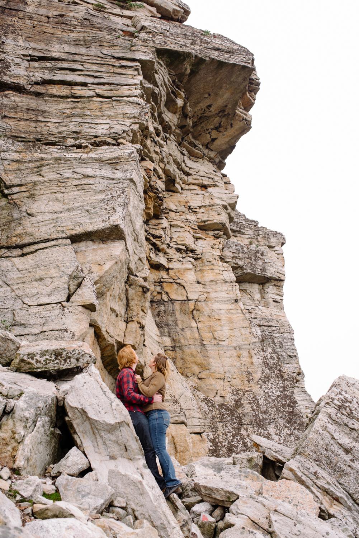 Kayte+ Kevin-Mohonk Mountain Hiking Engagement Session- New Paltz New York- Olivia Christina Photo- (95).JPG