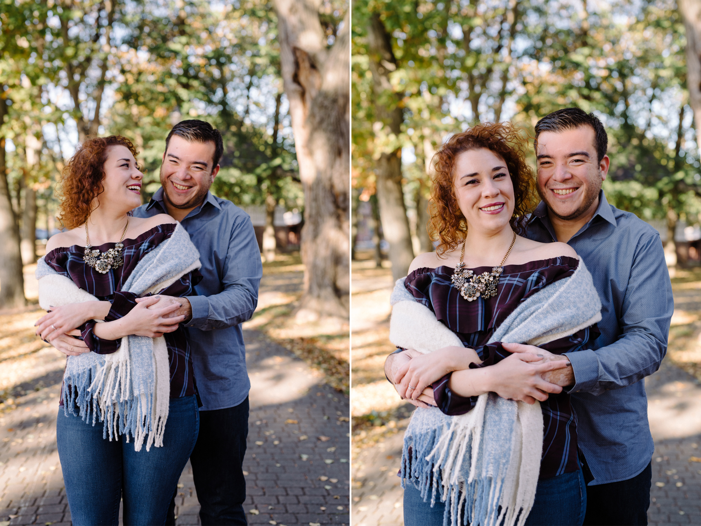 Melissa+Kenny- Watsessing Park Fall Engagement Session-Portraits- Bloomfield New Jersey- Olivia Christina Photo.JPG