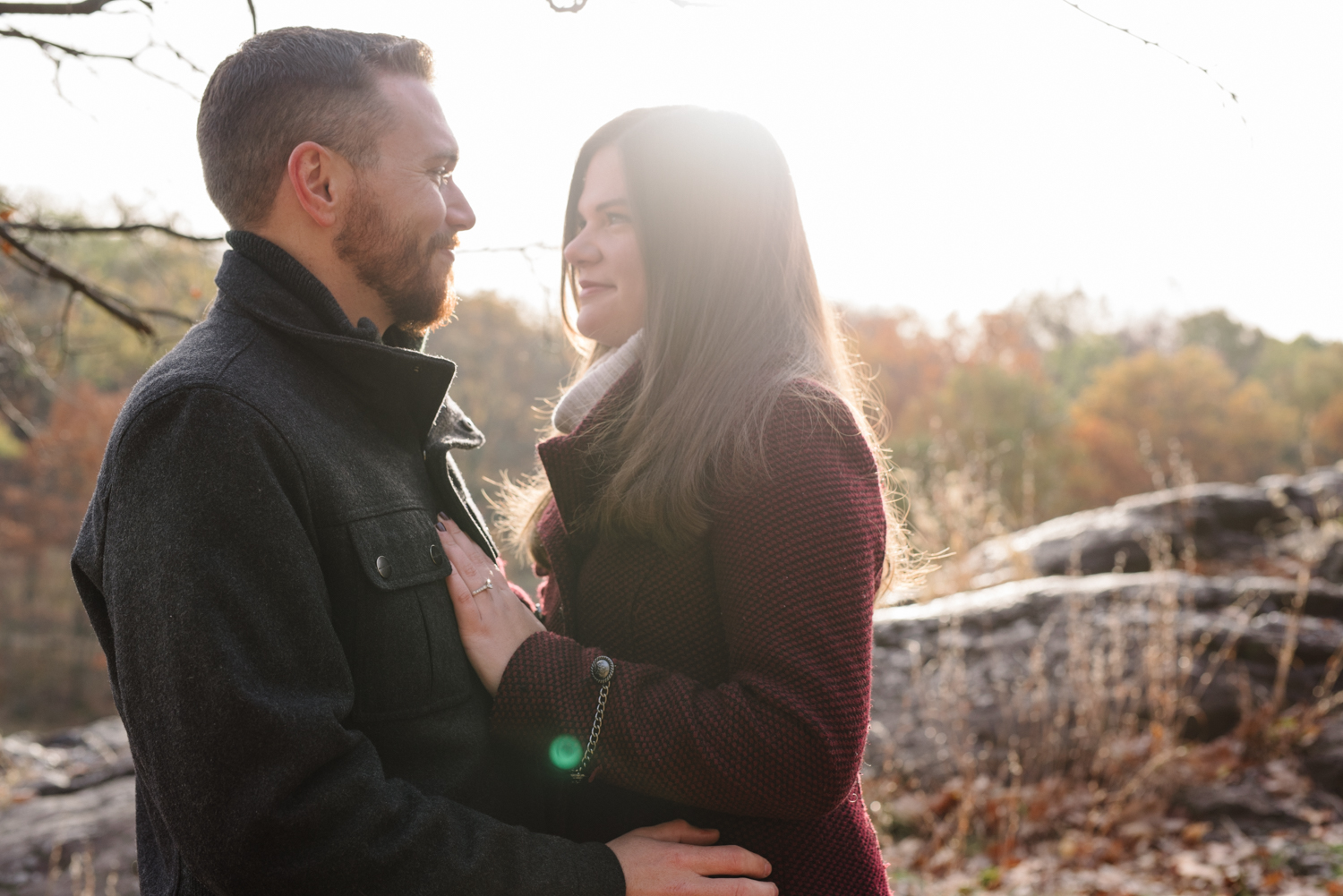 Amy+Brian- Garret Mountain Engagement Session- Fall Nature- Film Photography-New Jersey- Olivia Christina Photo-9.JPG