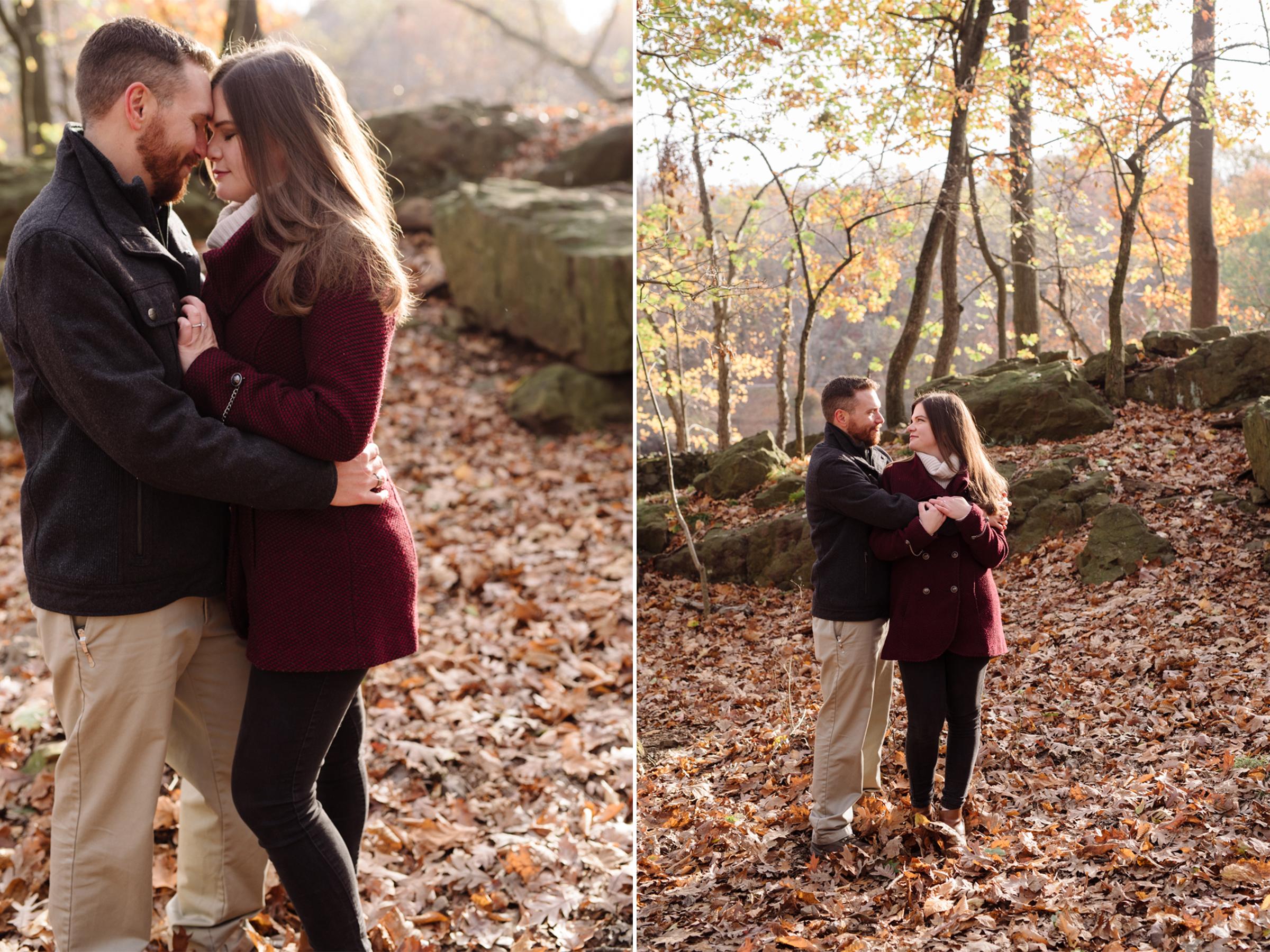 Amy+Brian- Garret Mountain Engagement Session- Fall Nature-New Jersey- Olivia Christina Photo.JPG