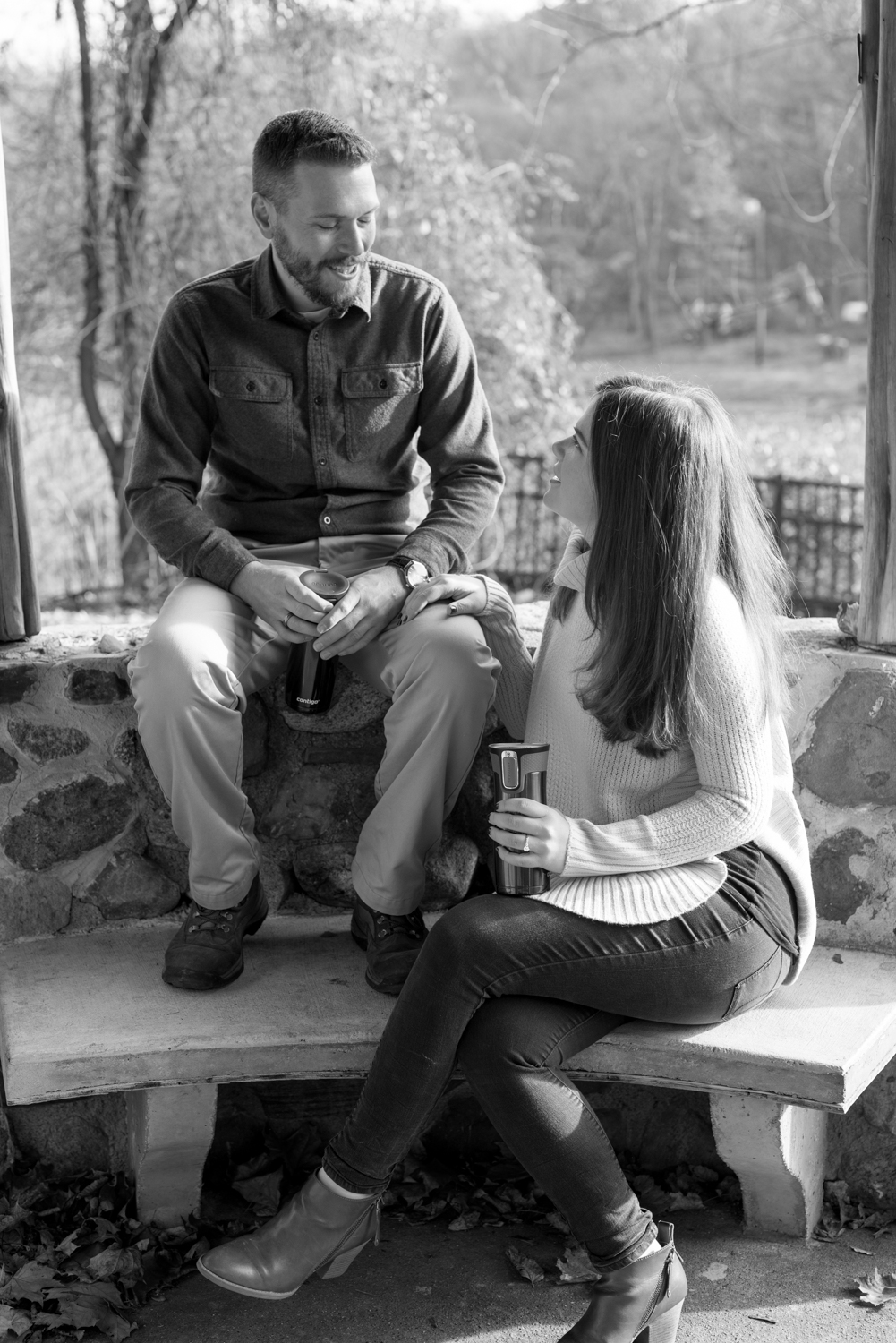 Amy+Brian- Garret Mountain Engagement Session- Fall Nature- Film Photography-New Jersey- Olivia Christina Photo-28.JPG