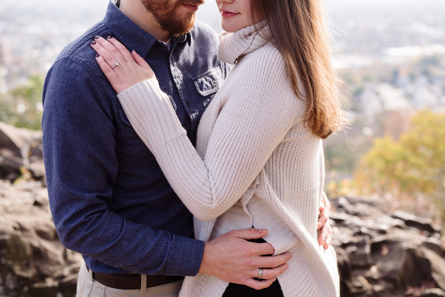 Amy+Brian- Garret Mountain Engagement Session- Fall Nature- Film Photography-New Jersey- Olivia Christina Photo-64.JPG