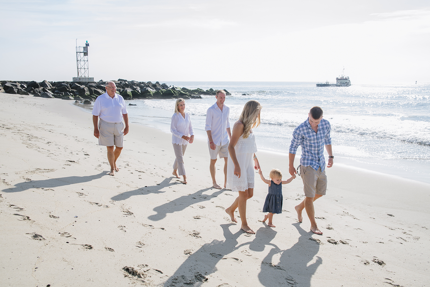 Miller Family- Modern Heirloom- Seaside Family Photo Session- Belmar New Jersey-  Olivia Christina Photo-27.1.jpg