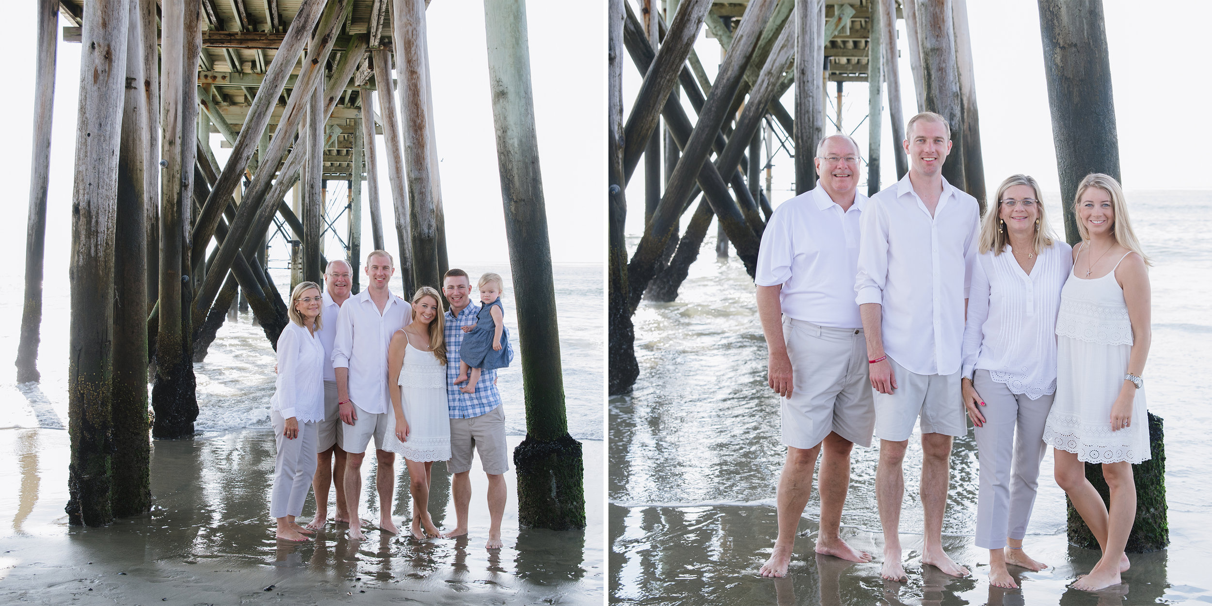 Miller Family- Modern Heirloom- Seaside Family Photo Session-Under the Pier- Belmar New Jersey-  Olivia Christina Photo.jpg
