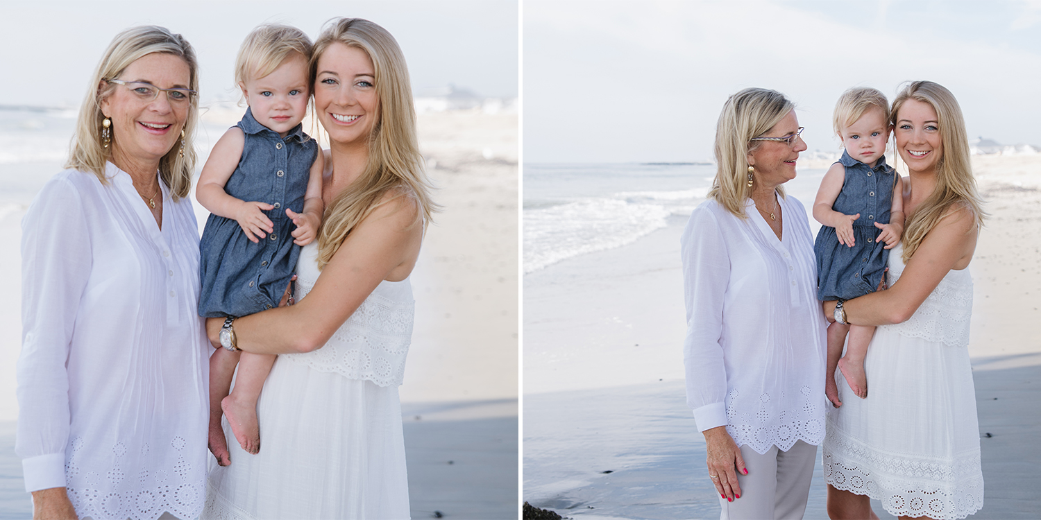 Miller Family- Modern Heirloom- Seaside Family Photo Session- Mother Daughter Grandmother-Belmar New Jersey-  Olivia Christina Photo.jpg