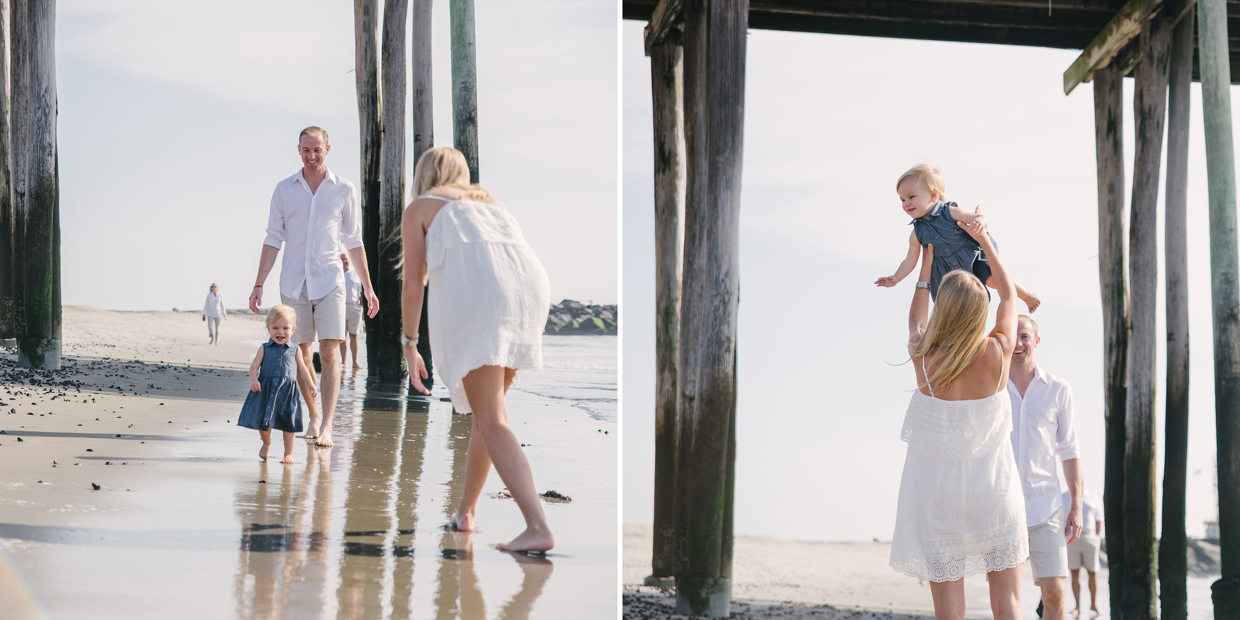 Miller Family- Modern Heirloom- Seaside Family Photo Session-Mother Daughter- Belmar New Jersey-  Olivia Christina Photo-1.1.jpg