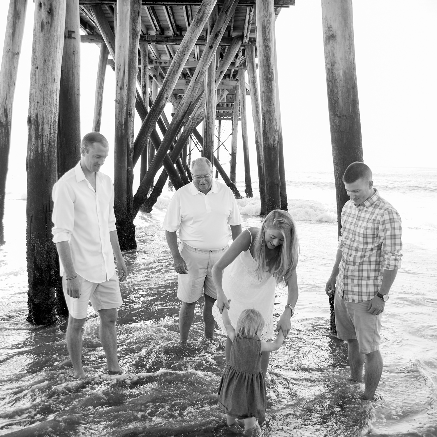 Miller Family- Modern Heirloom- Seaside Family Photo Session- Belmar New Jersey-  Olivia Christina Photo-63.1.jpg