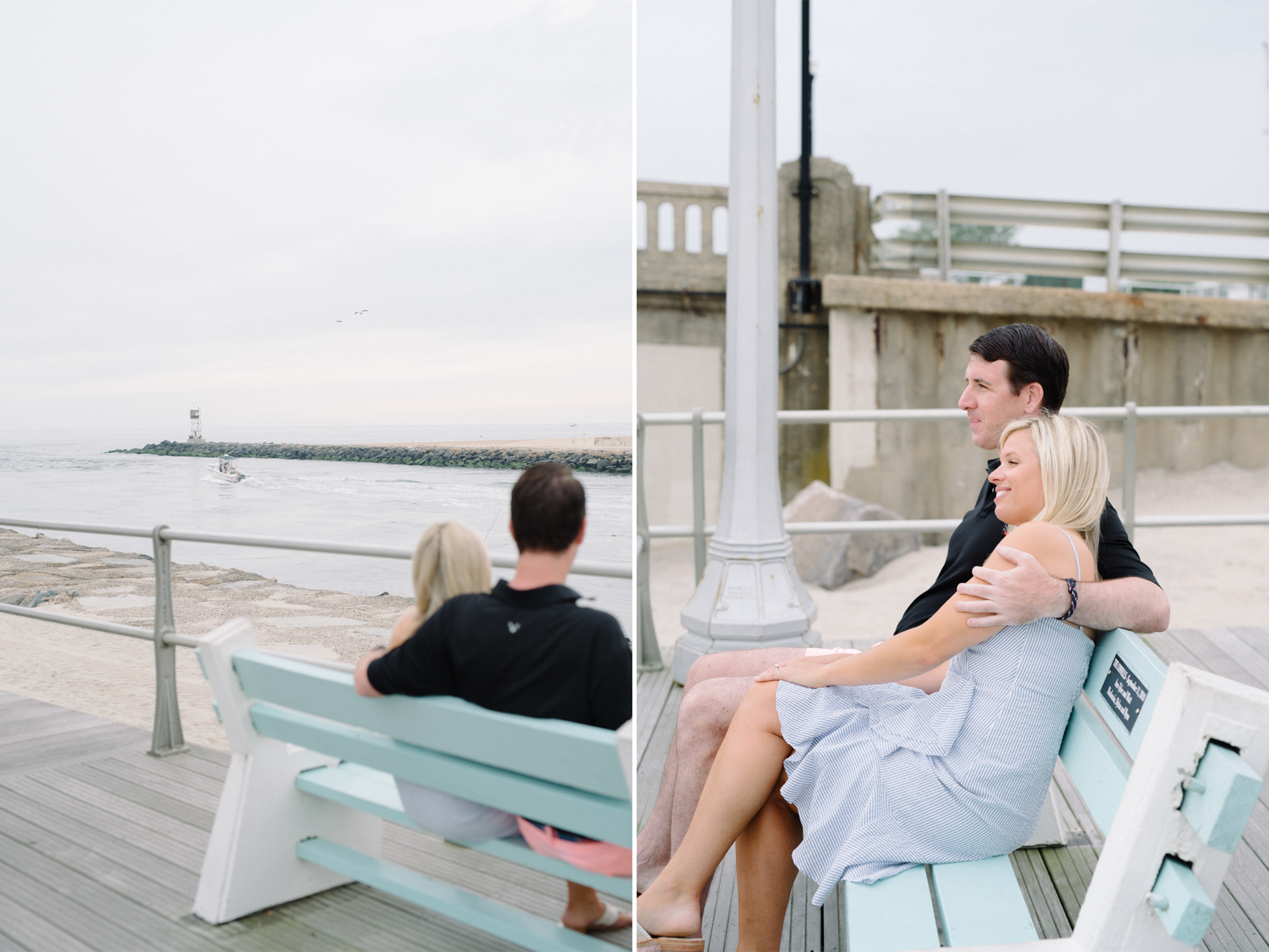 Angela+Troy- Sunrise Beach Engagement Session-Boardwalk- Avon By The Sea New Jersey- Olivia Christina Photo-2.JPG