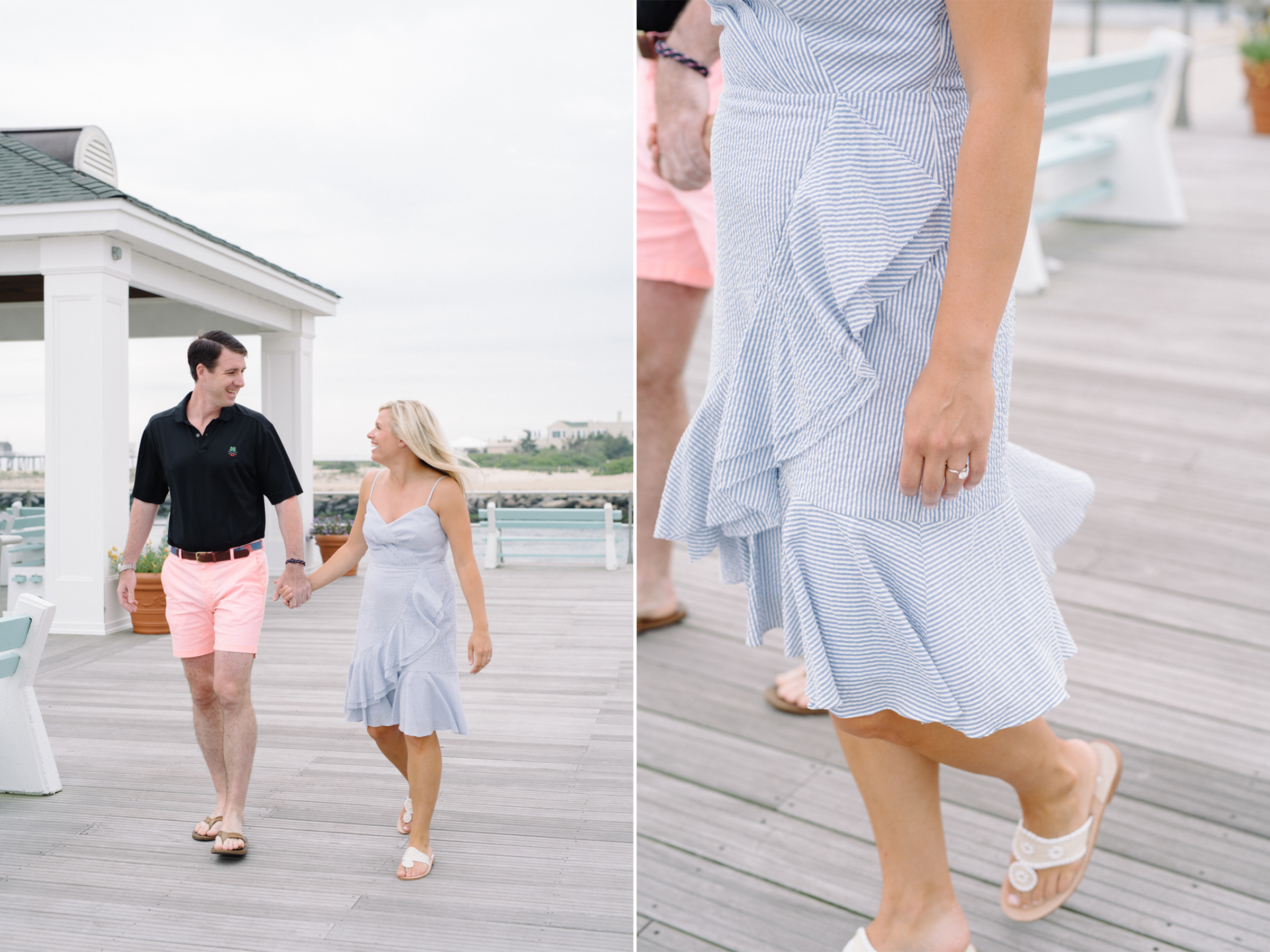 Angela+Troy- Sunrise Beach Engagement Session-Preppy Style Engagement Ring- Avon By The Sea New Jersey- Olivia Christina Photo-3.JPG