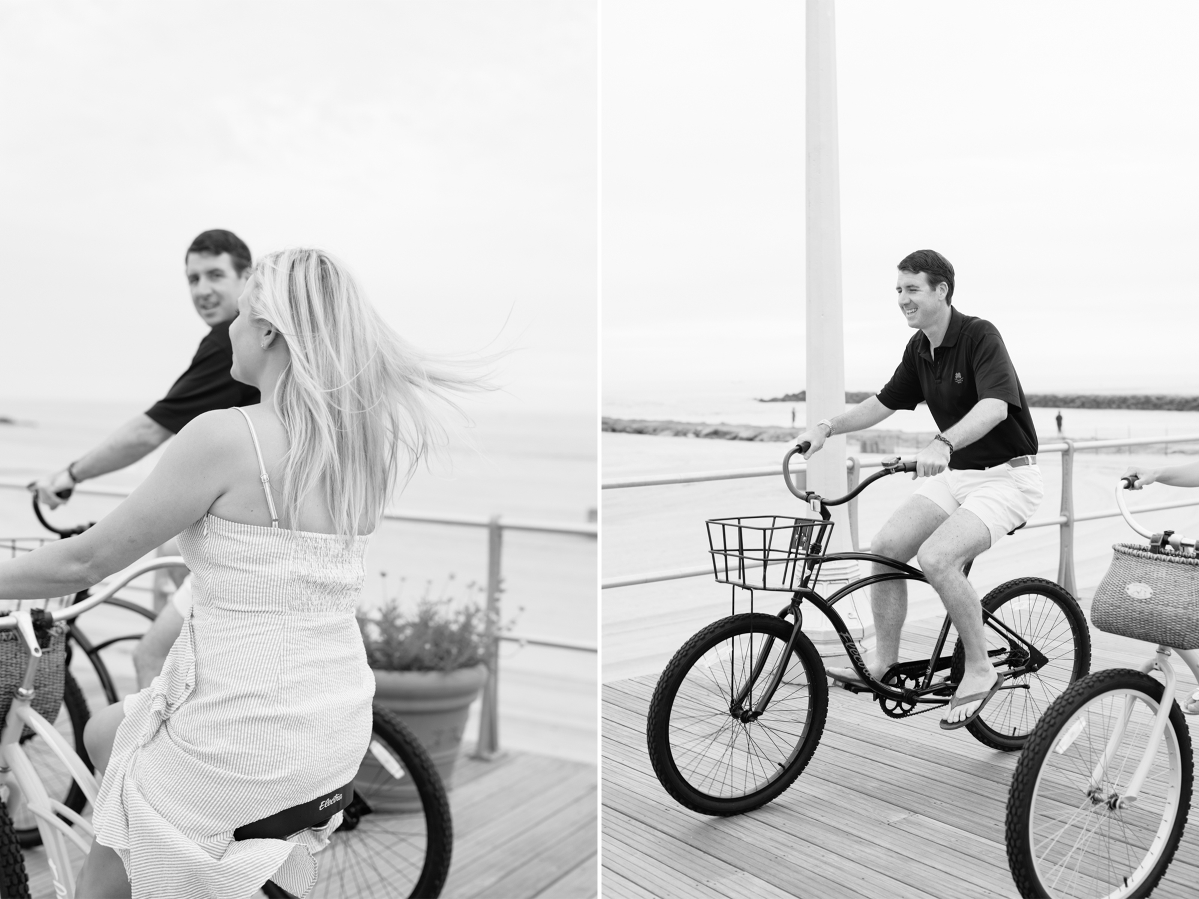 Angela+Troy- Sunrise Beach Engagement Session-Riding Bicycles on Boardwalk- Avon By The Sea New Jersey- Olivia Christina Photo-3.JPG