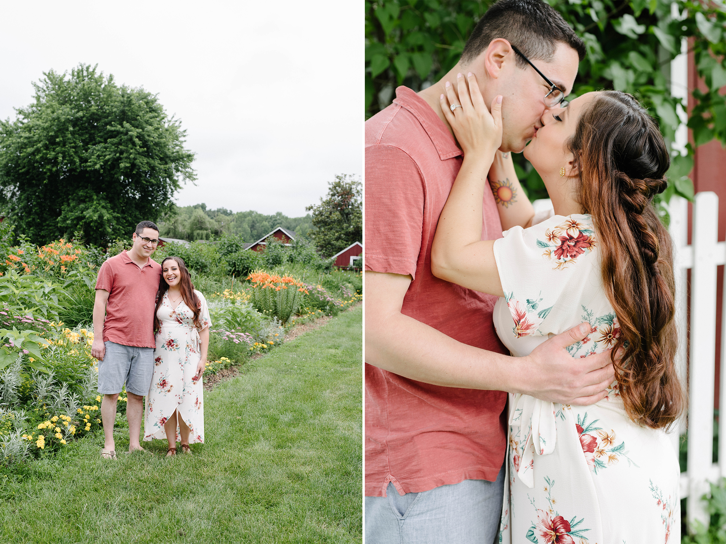 Terhune Orchards Engagement Session-Flower Fields Rustic Barn- Princeton New Jersey- Olivia Christina Photography.jpg