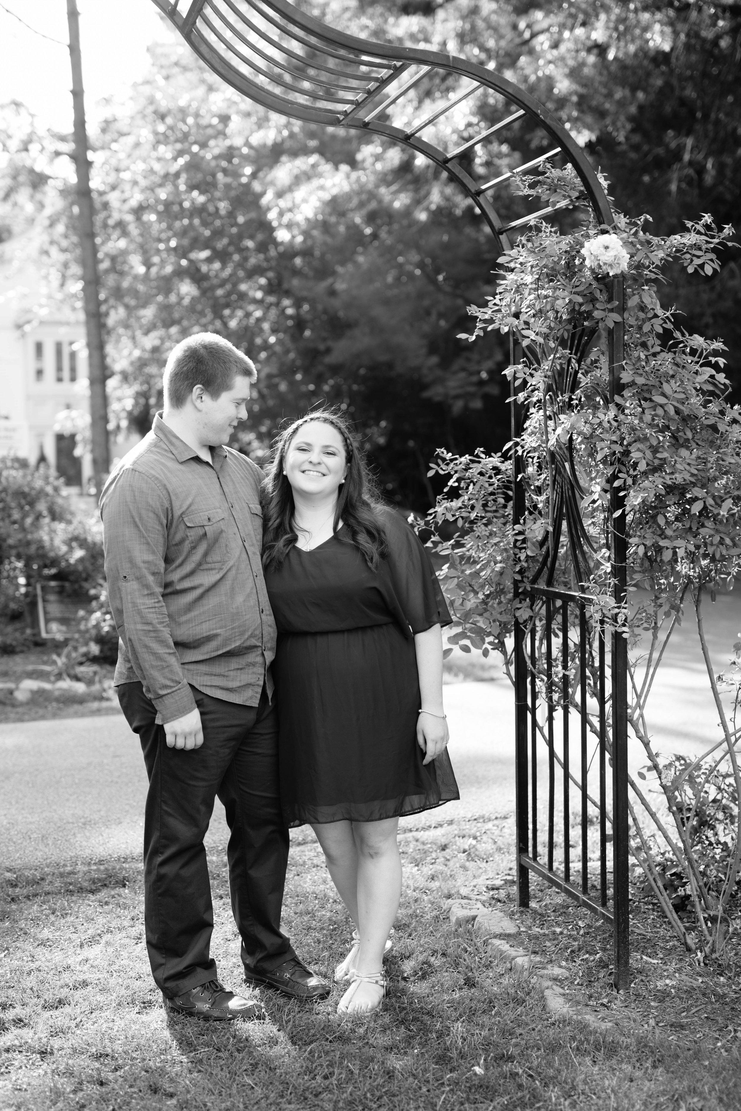 Jen + Kevin- Brookdale Park Rose Garden Engagement Session- Bloomfield New Jersey- Olivia Christina Photo-26.jpg
