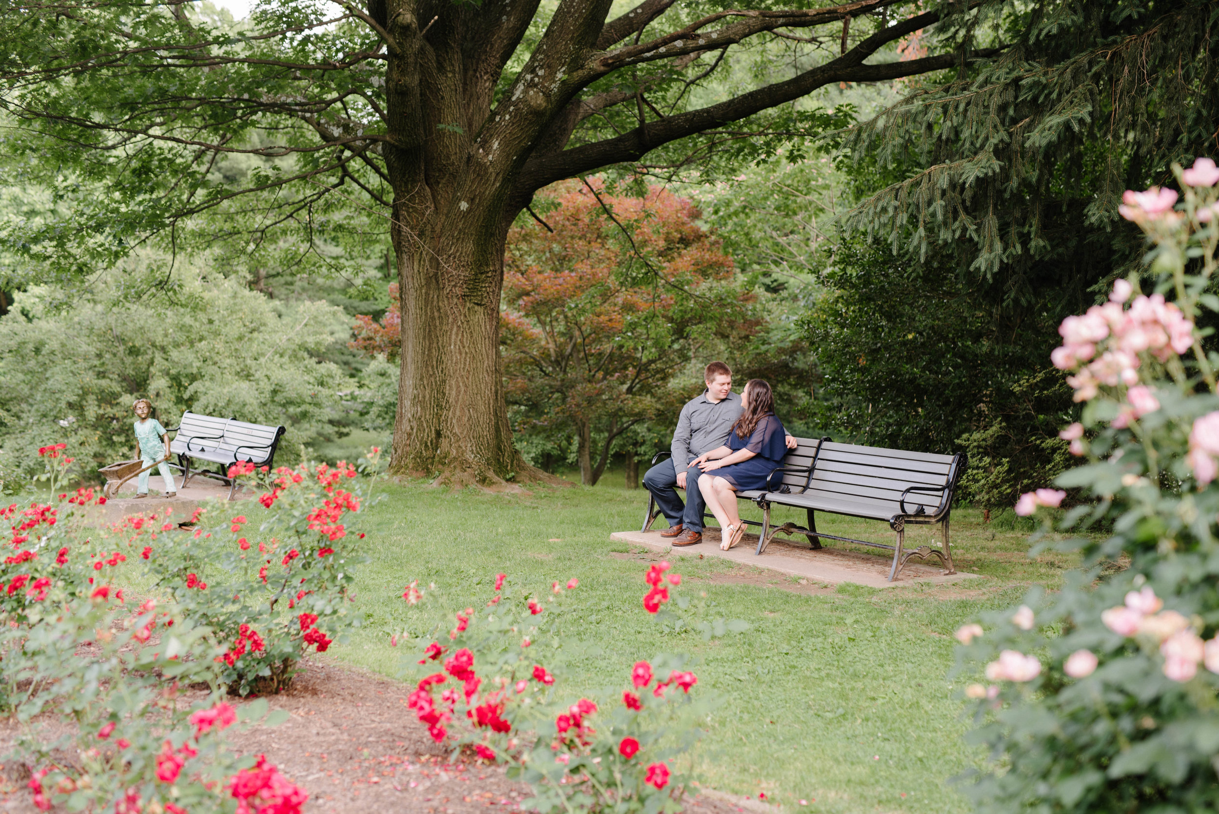 Jen + Kevin- Brookdale Park Rose Garden Engagement Session- Bloomfield New Jersey- Olivia Christina Photo-29.jpg