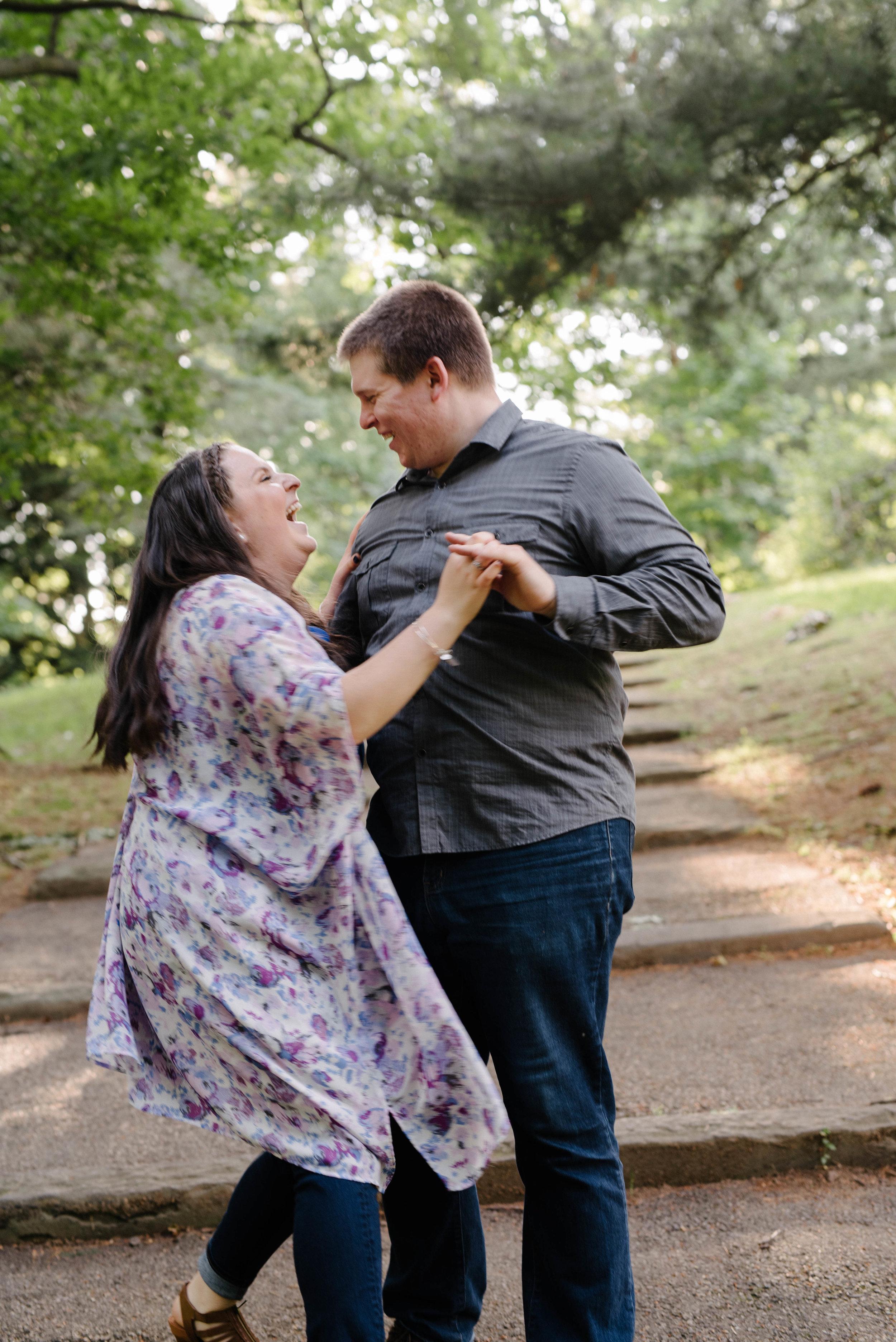 Jen + Kevin- Brookdale Park Rose Garden Engagement Session- Bloomfield New Jersey- Olivia Christina Photo-64.jpg