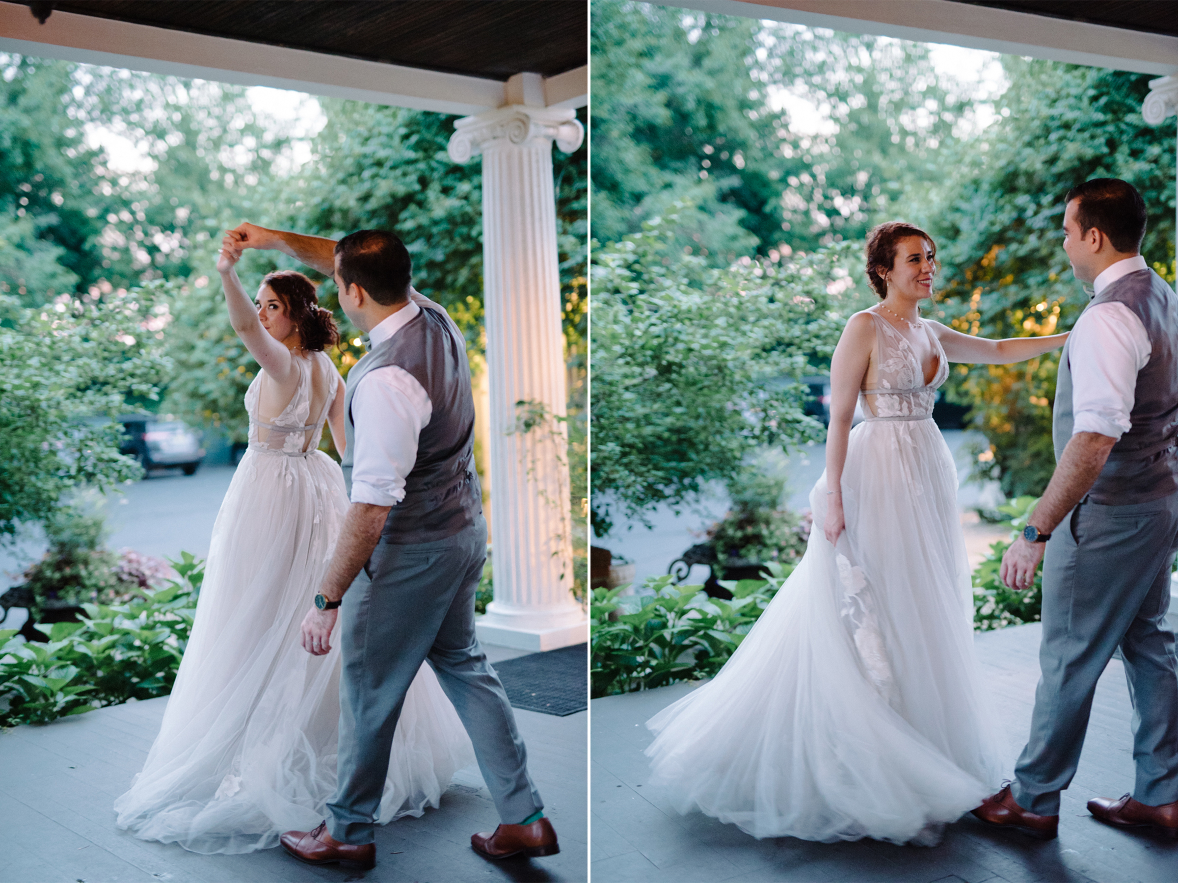 Feast at Round Hill Wedding-Kenny + Melissa- Bride and Groom Portraits at Dusk-Hudson Valley New York - Olivia Christina Photo-1.jpg