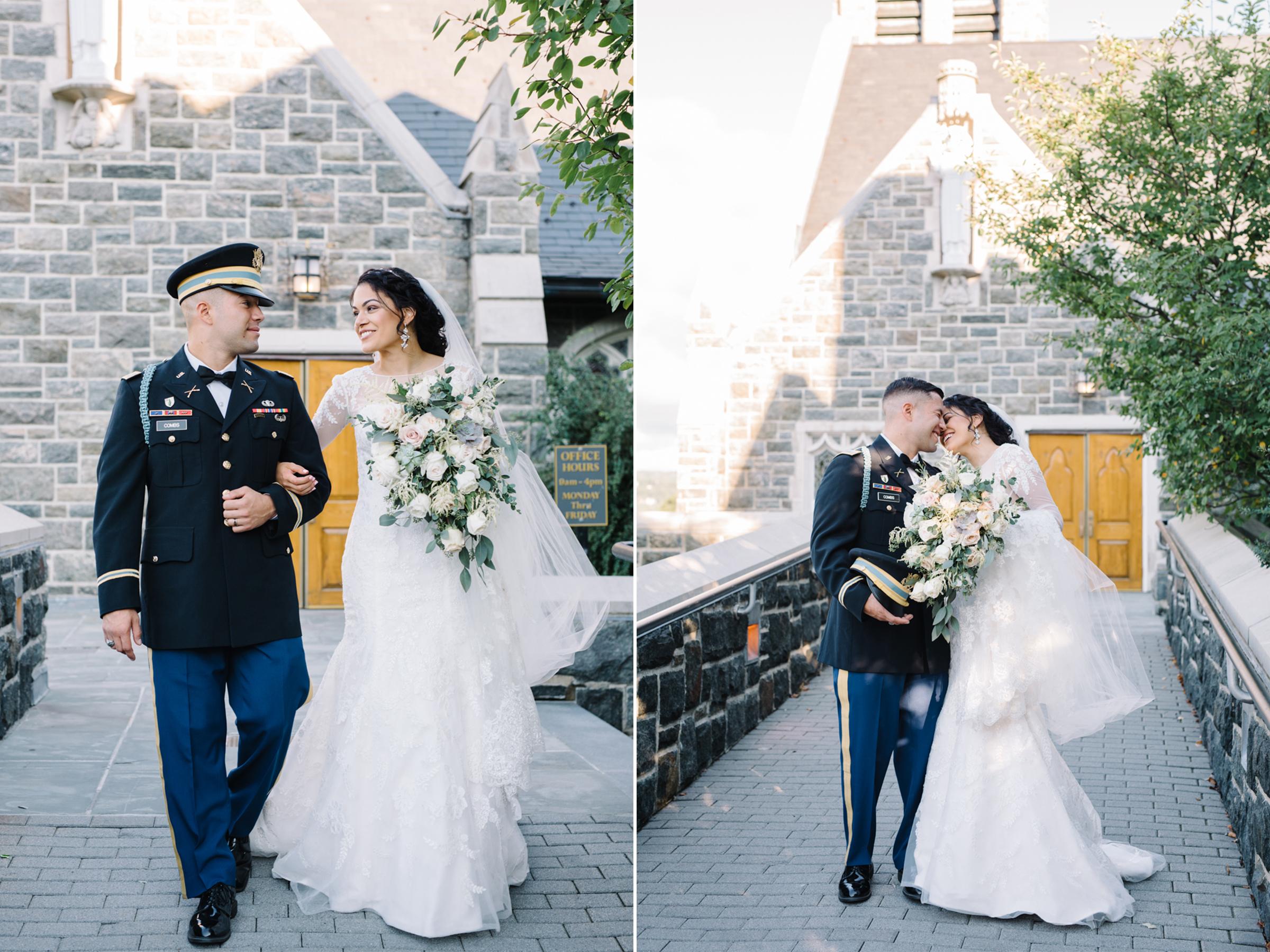 Military Wedding- West Point Army Academy-Most Holy Trinity Church-Lily of the Valley-Oleg Cassini- Olivia Christina Photo.jpg