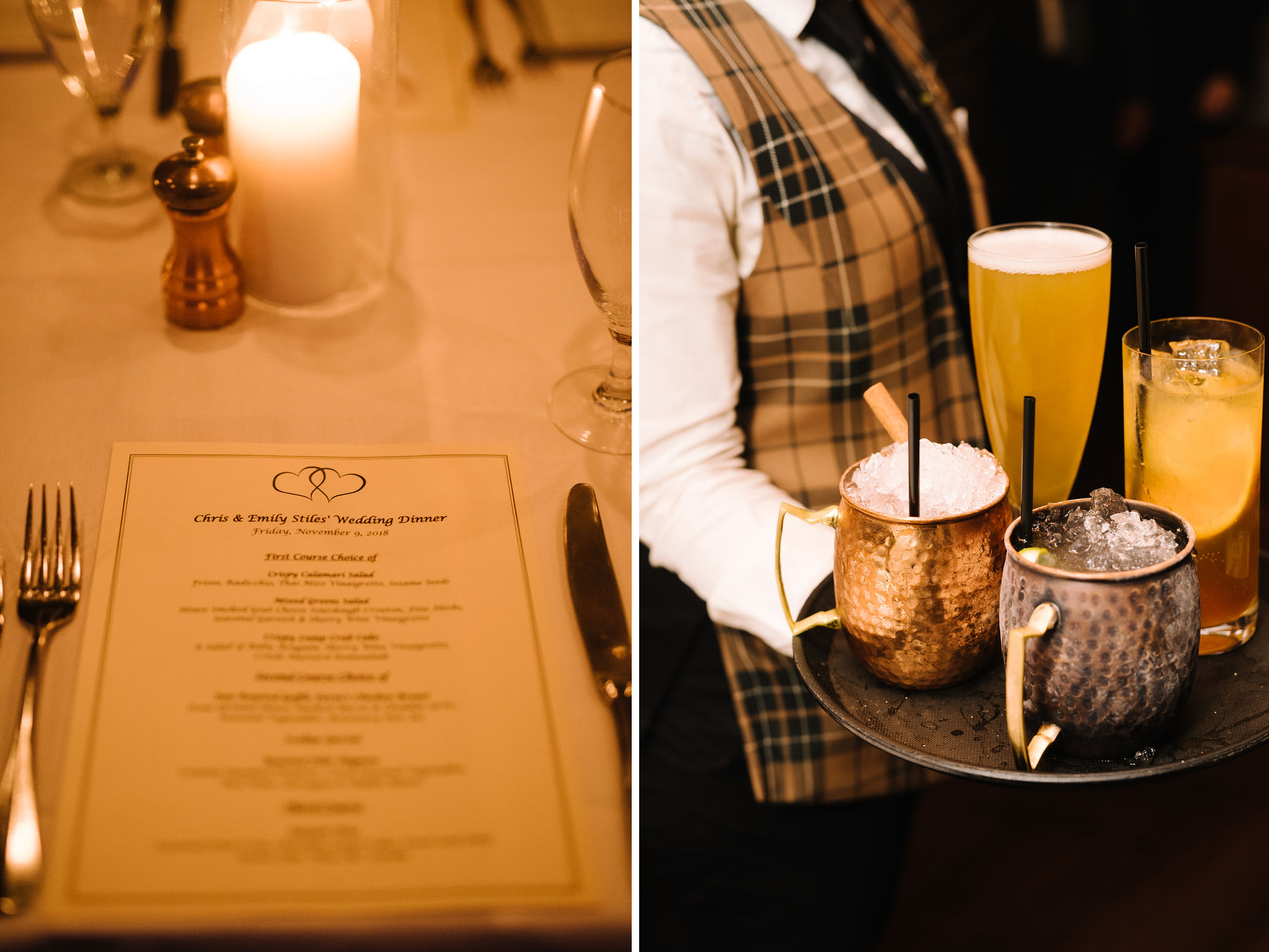 Emily and Chris- Intimate Restaurant Elopement- Tablescape Menus Drinks- Olivia Christina Photo.jpg
