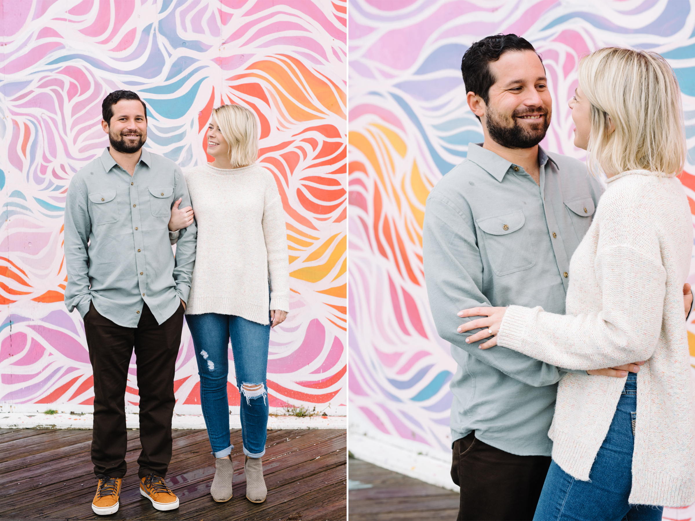 Asbury Park Engagement Session- Johanna+Danny-Colorful Graffiti Mural-New Jersey- Olivia Christina Photo-1.jpg