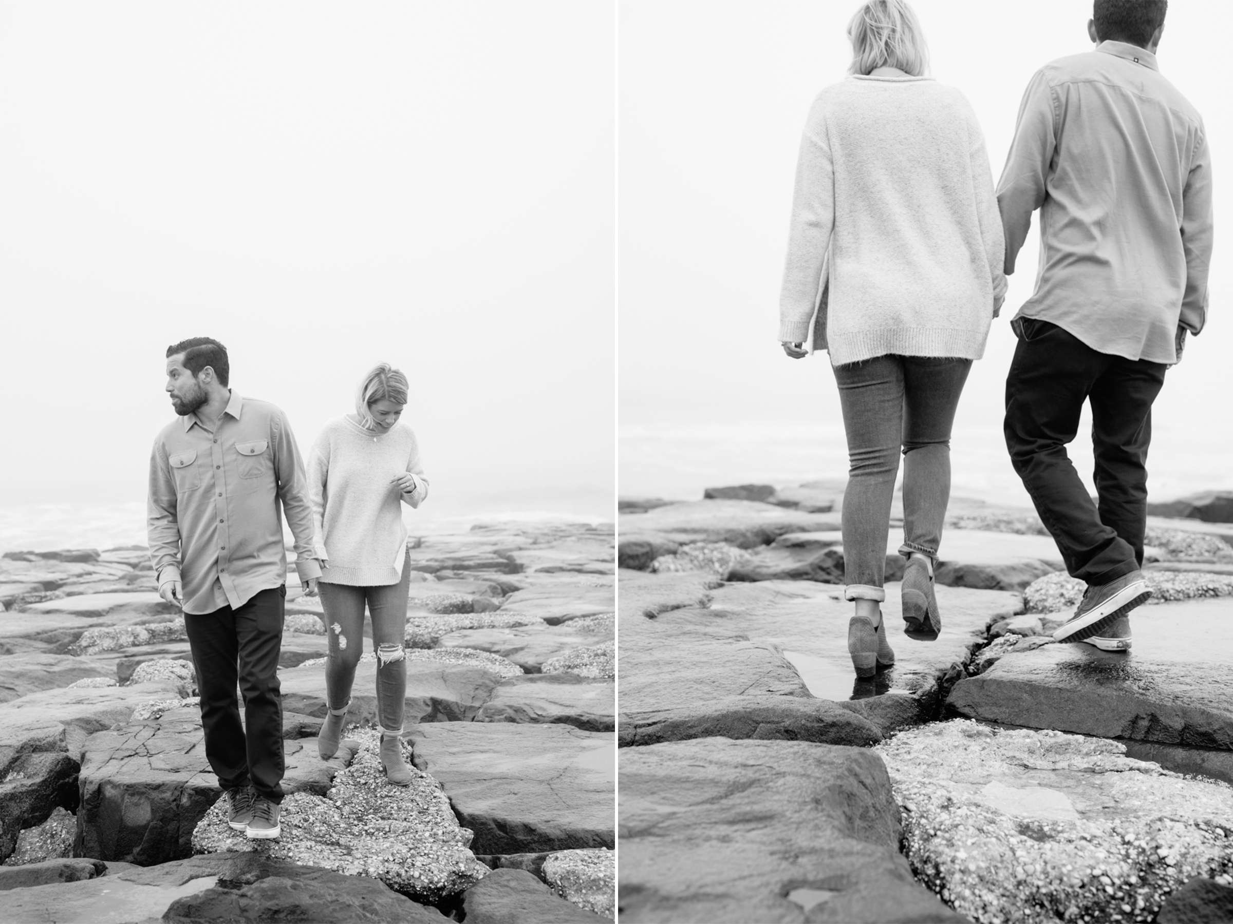 Asbury Park Engagement Session- Johanna+Danny-Ocean Jetty Rocks-New Jersey- Olivia Christina Photo-1.jpg
