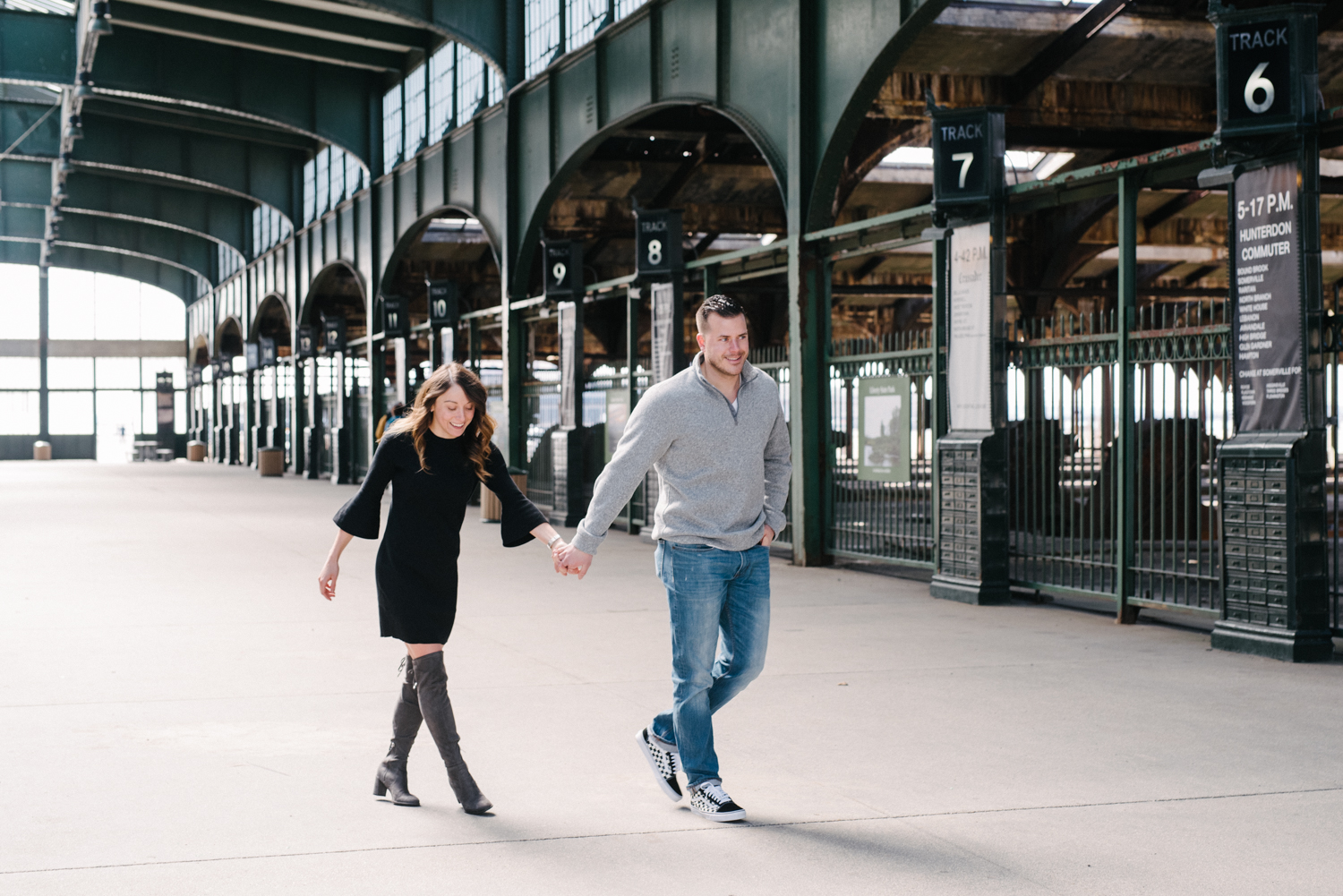 Liberty State Park Engagement Session- Danielle + Joe- New Jersey- Olivia Christina Photo-166.jpg