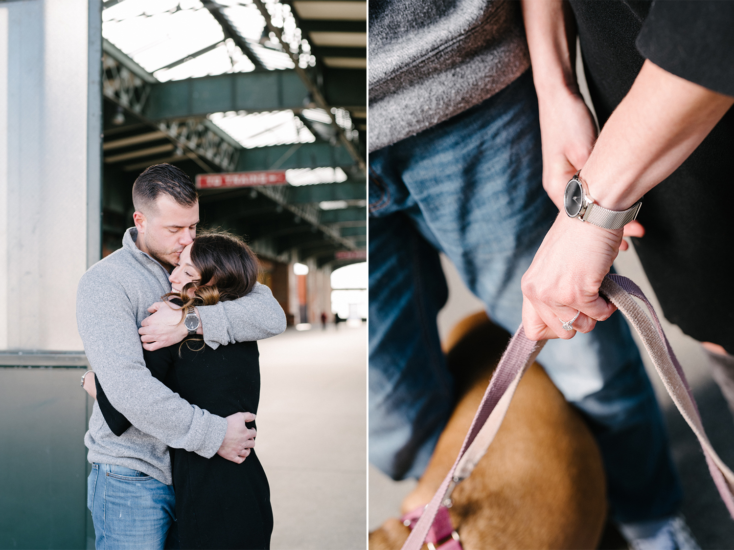 LSP Train Station- Engagement Session with Dogs- Jersey City- Olivia Christina Photo.jpg