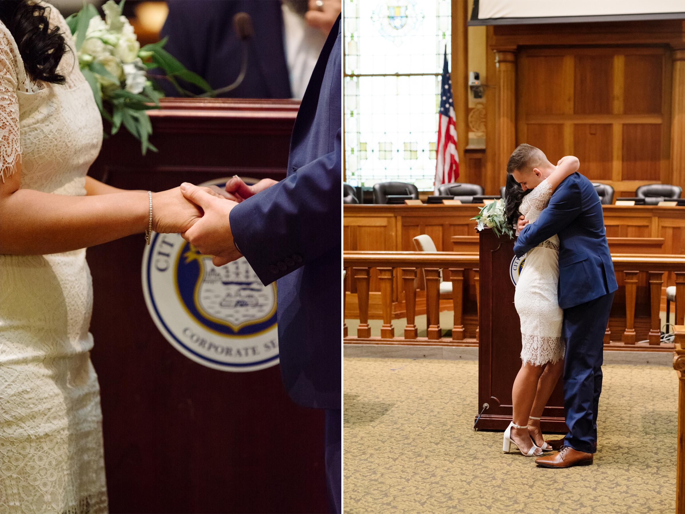 City Hall Wedding- Nichole + Lukasz- Jersey City New Jersey- Olivia Christina Photo.4.jpg