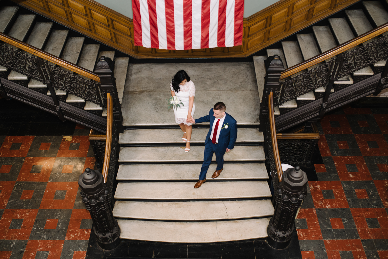 Jersey City Hall Elopement- Nichole + Lukasz- New Jersey- Olivia Christina Photo- websize-141.jpg