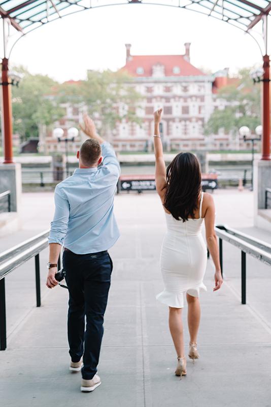Ellis Island Sunset Engagement Session- Maria + Mike- NYC Skyline-New Jersey- Olivia Christina Photo-41-web.jpg